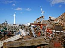 vent de turbine de déchets Photo libre de droits