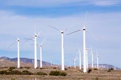 vent de turbine de ferme images stock