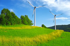 vent de turbines Image stock