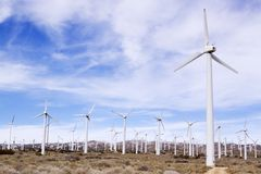 vent de turbines photographie stock libre de droits