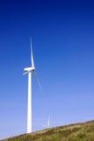 vent de turbines de ferme Photographie stock libre de droits