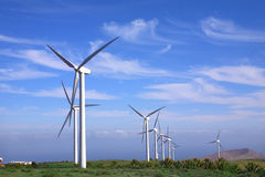 vent eolic de turbine Image libre de droits