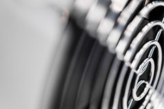 Vent grill with fan closeup Royalty Free Stock Photos