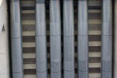 Vent pipes Royalty Free Stock Photos