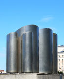 Vent pipes on the roof Royalty Free Stock Photos