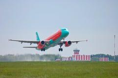 Vent Rose Aviation Airbus A321 Photo libre de droits