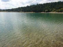 Vent sur l'eau photographie stock