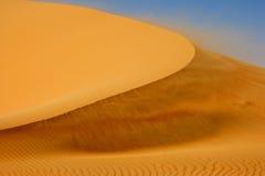 Vent sur la dune Image stock