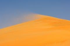 Vent sur la dune Photos stock