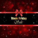 Venta brillante de Black Friday del fondo Imagen de archivo libre de regalías