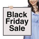 Venta de Black Friday Imágenes de archivo libres de regalías