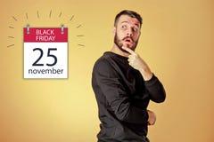 Venta de Black Friday - concepto de las compras del día de fiesta Fotografía de archivo