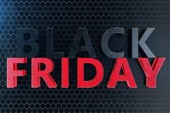 Venta de casas del año Black Friday solamente una vez al año, los días pasados de noviembre Descuentos, ventas ilustración 3D stock de ilustración