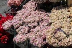 Venta de flores en Copenhague Foto de archivo libre de regalías