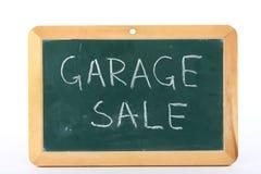 Venta de garage fotografía de archivo libre de regalías