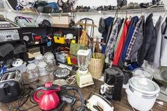 Venta de garaje Fotos de archivo libres de regalías