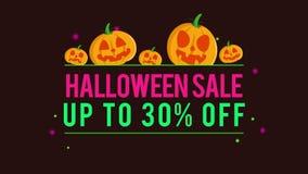 Venta de Halloween del fondo de la animación hasta 30 libre illustration
