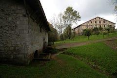 Venta de Iturrioz dans le pays Basque photographie stock