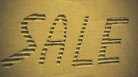 Venta de la inscripción Imágenes de archivo libres de regalías