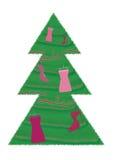 Venta de la moda de la Navidad Foto de archivo libre de regalías