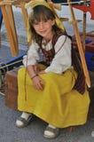 Venta de la muchacha Imagenes de archivo