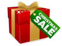 Venta de la Navidad stock de ilustración