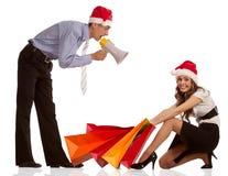 Venta de la Navidad Imagen de archivo