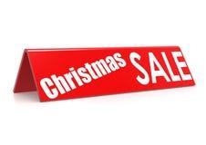 Venta de la Navidad Foto de archivo libre de regalías