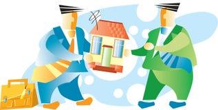 Venta de las propiedades inmobiliarias Fotografía de archivo