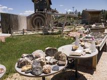 Venta de rocas y de minerales en Bryce Canyon National Park, Utah, los E.E.U.U. Fotografía de archivo