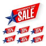 Venta del día del ` de los presidentes stock de ilustración