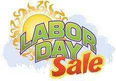 Venta del Día del Trabajo Imagen de archivo libre de regalías