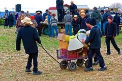 Venta del fango de Amish Fotos de archivo