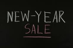 venta del Nuevo-año Fotografía de archivo