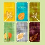 Venta del otoño/etiqueta, etiqueta, jefe o bandera del descuento para el web o la impresión Fotografía de archivo libre de regalías