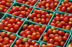Venta del tomate Fotografía de archivo
