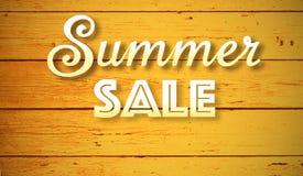 Venta del verano Imágenes de archivo libres de regalías