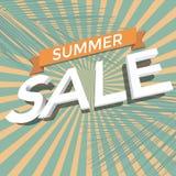 Venta del verano Imagen de archivo libre de regalías