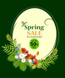 Venta del verano del ADN de la primavera Imagenes de archivo