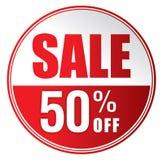 Venta el 50% apagado Imagen de archivo libre de regalías