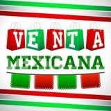Venta Especial Mexicana - Mexican Special Sale Royalty Free Stock Image