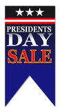 Venta feliz del día de los presidentes libre illustration