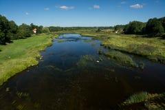 Venta flod Arkivbilder