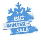 Venta grande del invierno Imagen de archivo libre de regalías