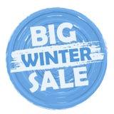 Venta grande del invierno Fotos de archivo libres de regalías