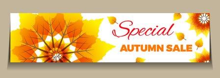 Venta grande del otoño Fotos de archivo