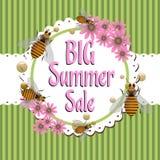 Venta grande del verano Imagen de archivo libre de regalías