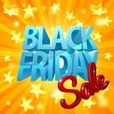Venta negra de viernes Imágenes de archivo libres de regalías