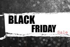Venta negra de viernes Imagenes de archivo