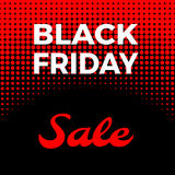 Venta negra de viernes Foto de archivo libre de regalías